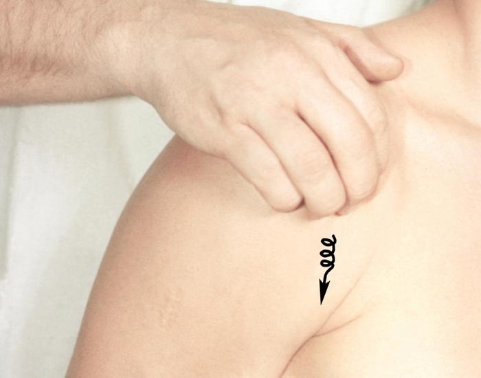 Массаж суставов растирание передней поверхности плечевого сустава; чтобы...