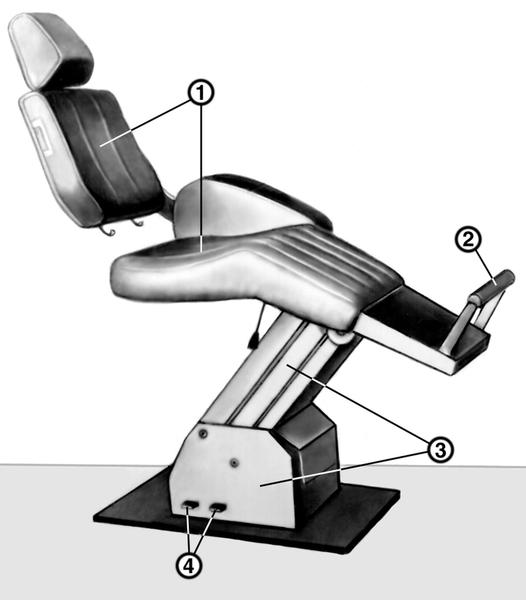 Стоматологическое кресло КСЭМ: