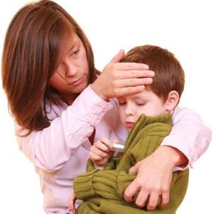 4 ошибки при лечении простуды у детей