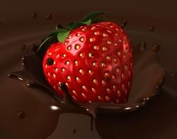 Стоматологи советуют: ешьте шоколад, клубнику и запивайте зеленым чаем
